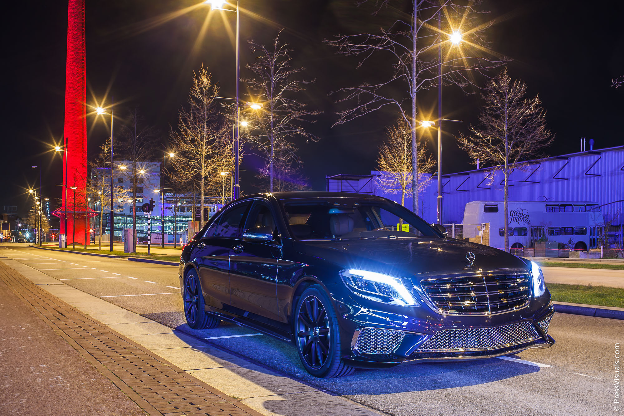 Mercedes S 500 AMG Styling | Auto Advance | Strijp S Eindhoven