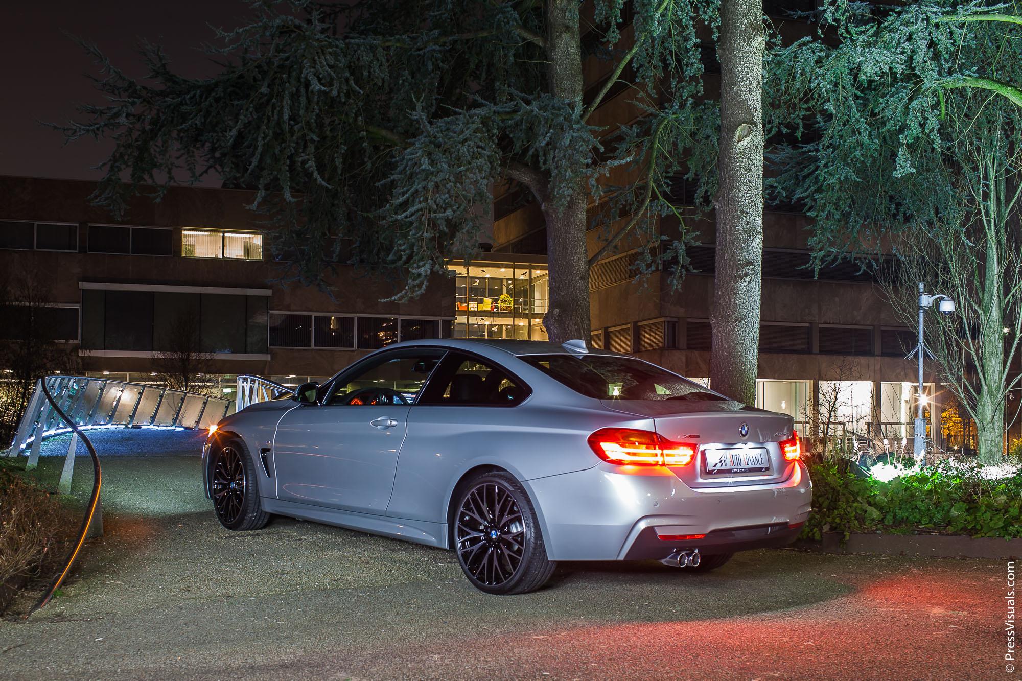 BMW 435d xDrive M-sportpakket | Auto Advance | Van Abbemuseum Eindhoven