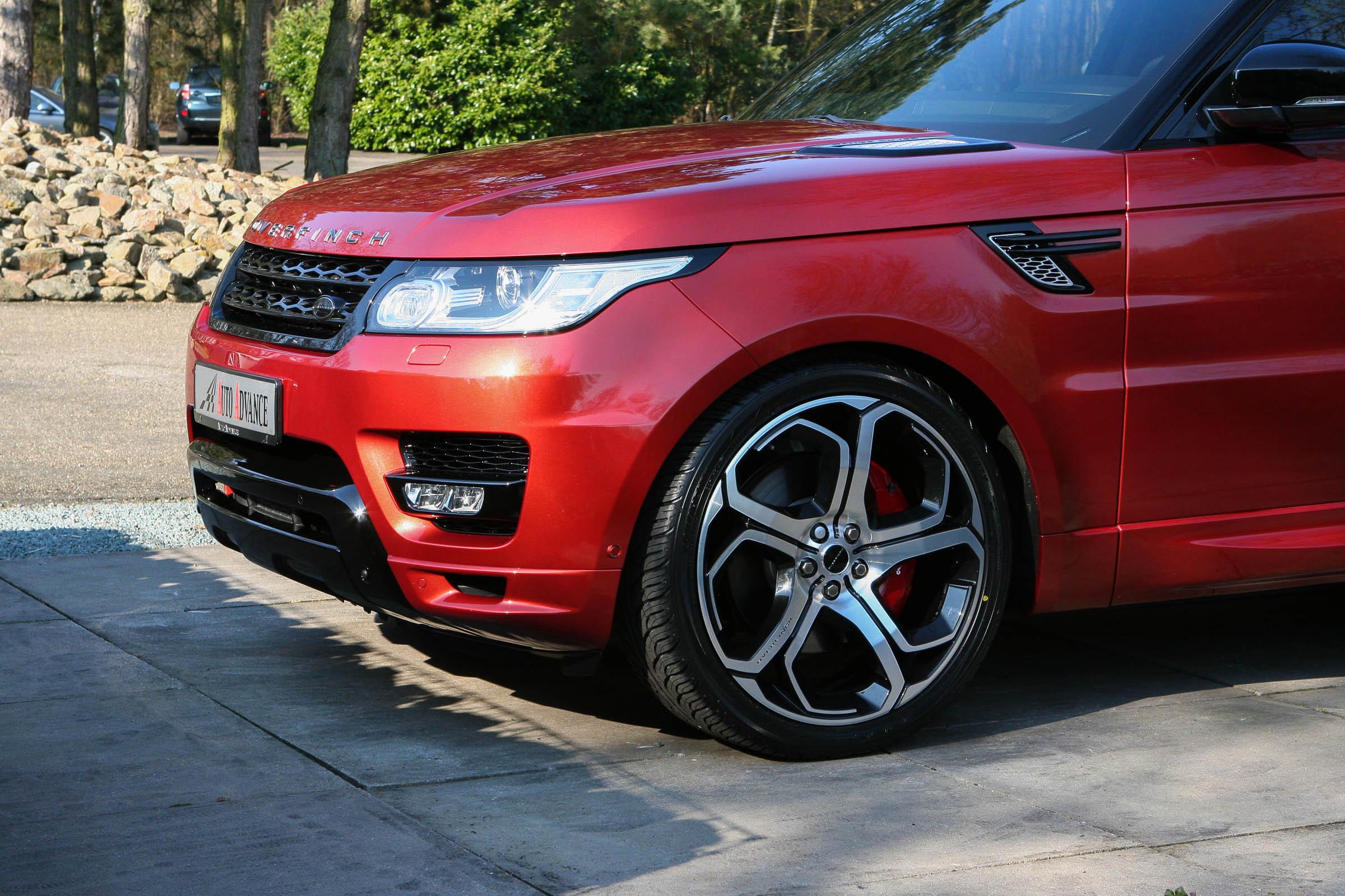 Range Rover Sport Overfinch Xenon Wheel